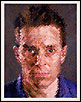 'James' by Chuck Close.